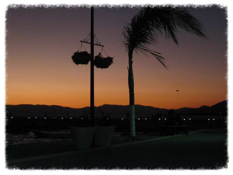 Chapala at twilight