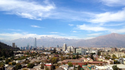 View from Dardignac 28 apartment - Santiago de Chile