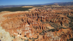 The Hoodoos from higher up at Inspiration Point - Bryce Canyon