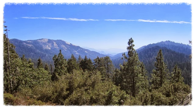 View of Kings Canyon National Park