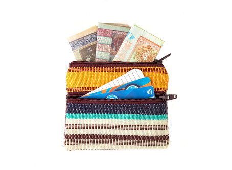 The Change Purse for Cards, Cash, and a Gentle Eco-Footprint