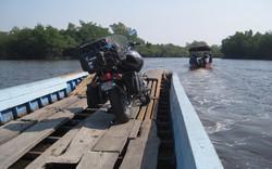 On ferry to Avellana, Guatemala