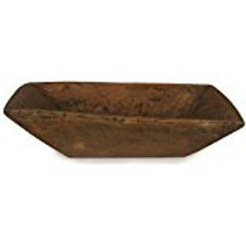Large Treen Trencher