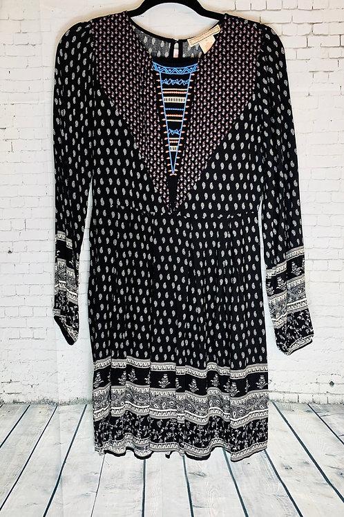 Black Paisley Dress