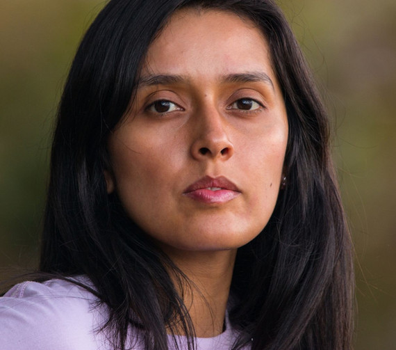 Diana Karina Rojas durante guía fotográfica