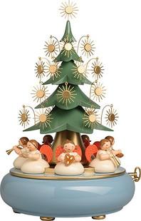 5336/41a unter dem Baum sitzende Engel