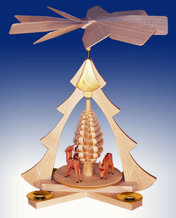 Pyramide Rehe