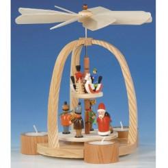 Pyramide Weihnachtsmann Reiter