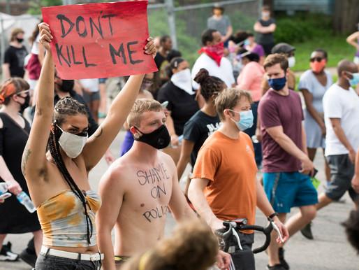 Police violence isn't a tragic outcome – it's a tool