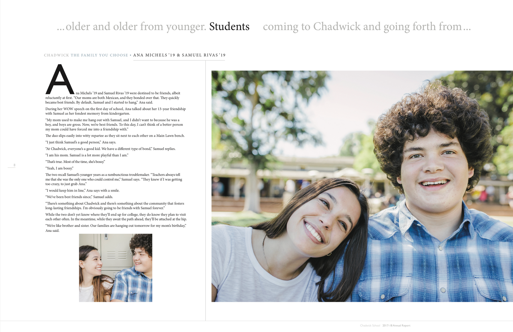 Annual Report Chadwick School