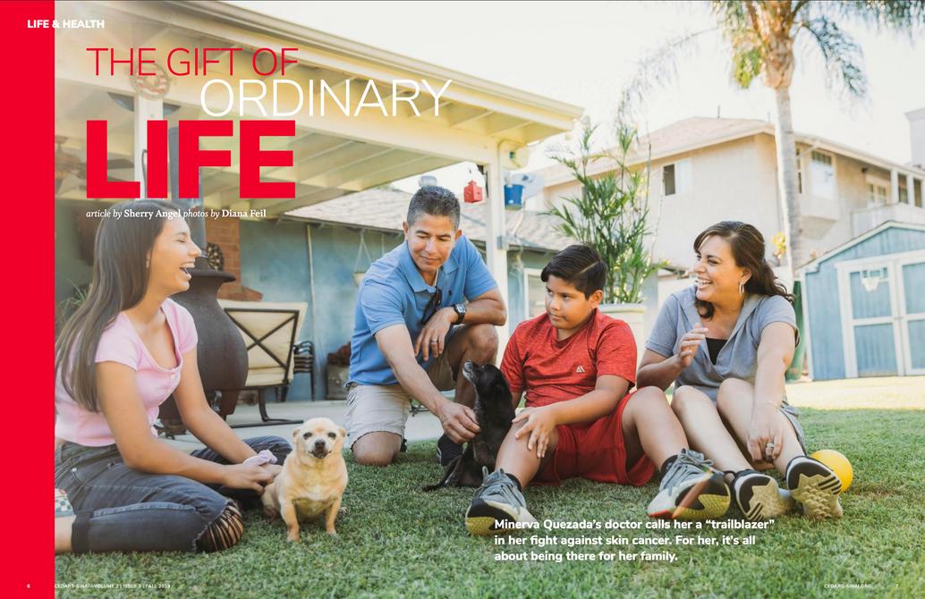 Family documentary for Cedars Sinai Magazine