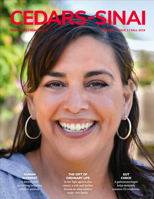 Cover Cedars Sinai Magazine