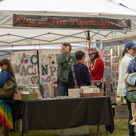 Ring of Fire Papercrafts - Festival Vendor