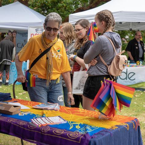 Bainbridge Pride Festival Attendee