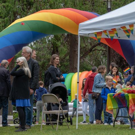 Bainbridge Pride Festival at the Waterfront Park