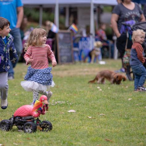 Children at Play - Bainbridge Pride Festival