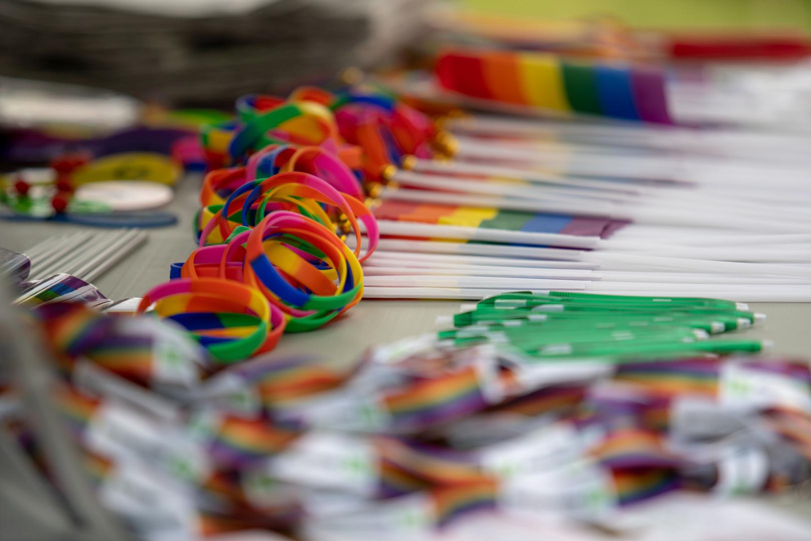 Bainbridge Pride Rainbow Bracelets