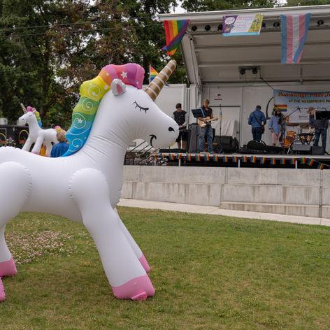 Festival Unicorn - Bainbridge Pride Festival