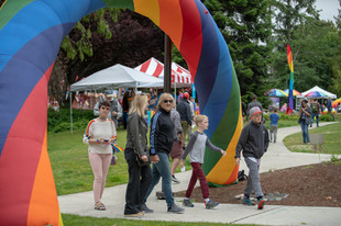 Bainbridge Pride Festival 2019 Attendees