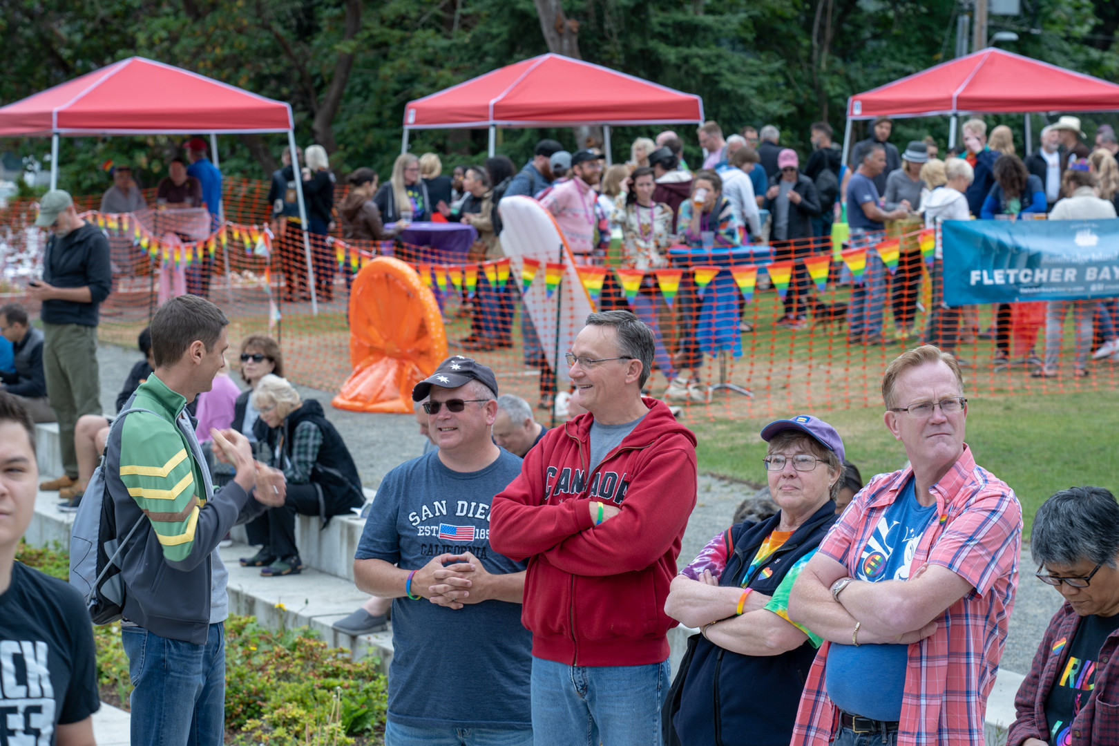 Bainbridge Pride Festival - Beer & Wine Garden Area