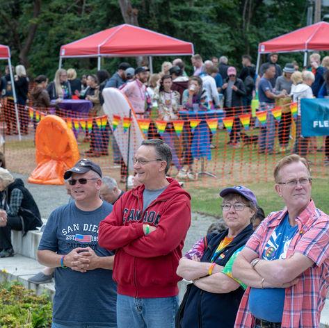 2019 Bainbridge Pride Festival at the Waterfront Park