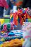Bainbridge Pride Festival - Small Rainbow Flags