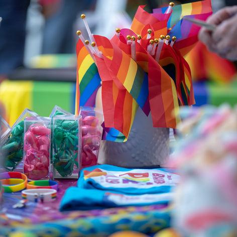 2019 Bainbridge Pride Flags