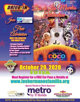 2020 Dia de Los Muertos Event Poster  11
