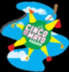 Generic Cinco de Mayo Logo - transparent
