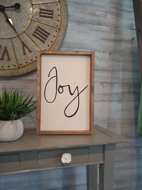 DIY KIT: Joy Sign