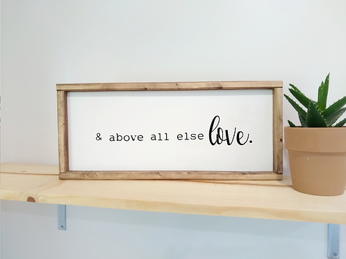 DIY Kit: & above all else LOVE