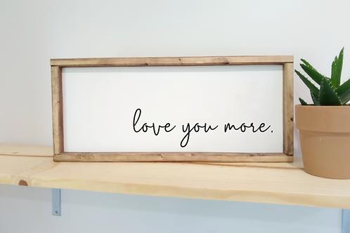 DIY Kit: Love You More