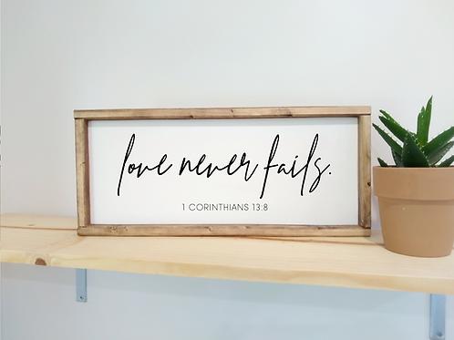 DIY Kit: Love Never Fails