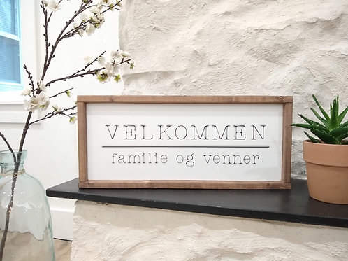 Velkommen - Norwegian