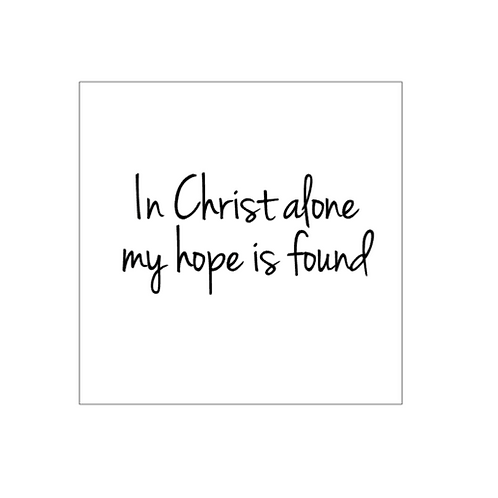 Bridal Shower:In Christ Alone
