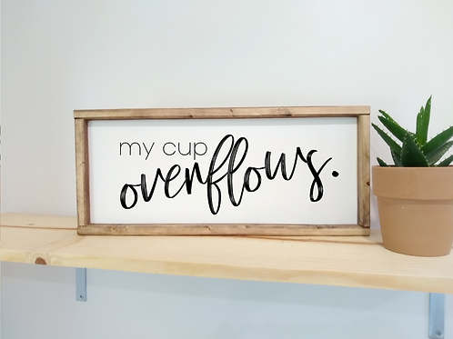 DIY Kit: My Cup Overflows