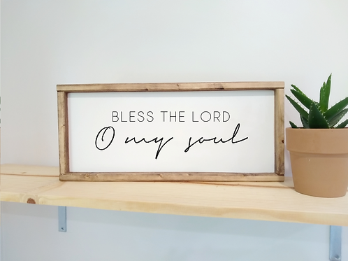 DIY Kit: Bless The Lord O My Soul