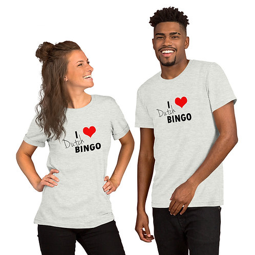 Dutch T-Shirt : I Love Dutch Bingo