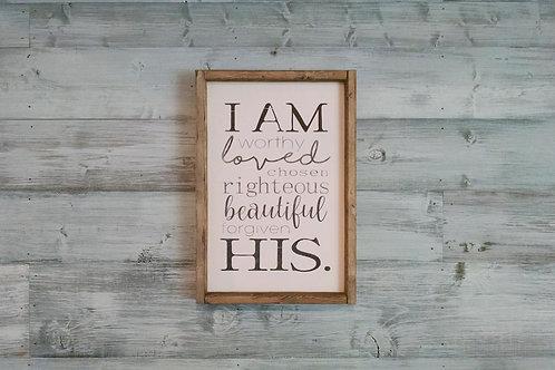 I Am...His.