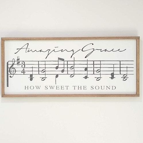 Amazing Grace - Music Notes