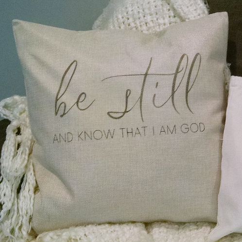 FRIENDSHIP : Be Still Pillow