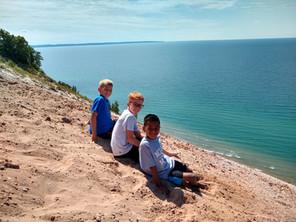 The Boys on Sleeping Bear Dunes