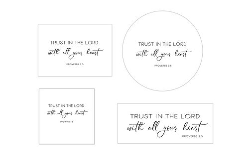PINK : Trust In The Lord