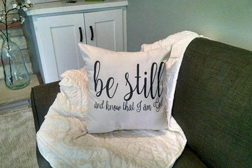 Pillow: Be Still