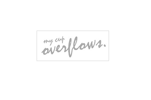 PINK : My Cup Overflows