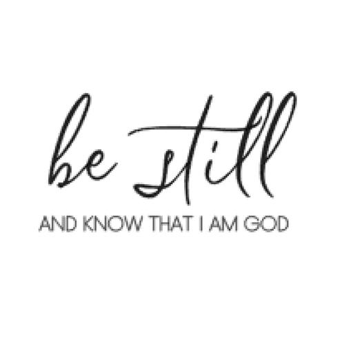1st Reformed Church: Be Still