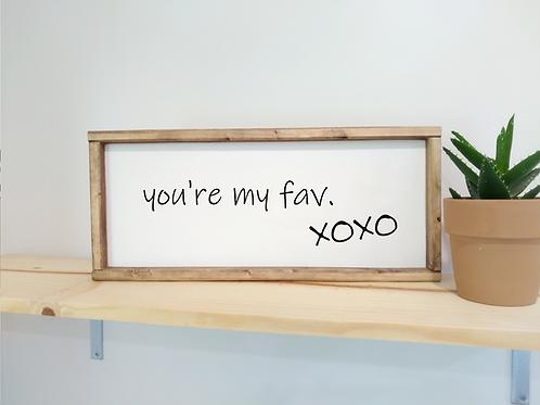 DIY Kit: You're My Fav. xox