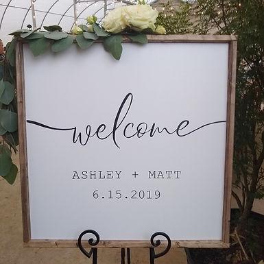 Wedding Rental Sign