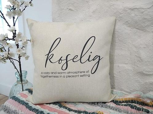 Koselig Pillow - Norwegian Gift