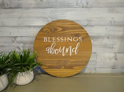 Round : Blessings Abound - DIY Kit